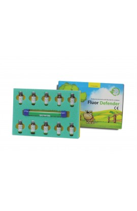 LAC FLUORIZARE FLUOR DEFENDER MAXI 10x1ml - Cerkamed