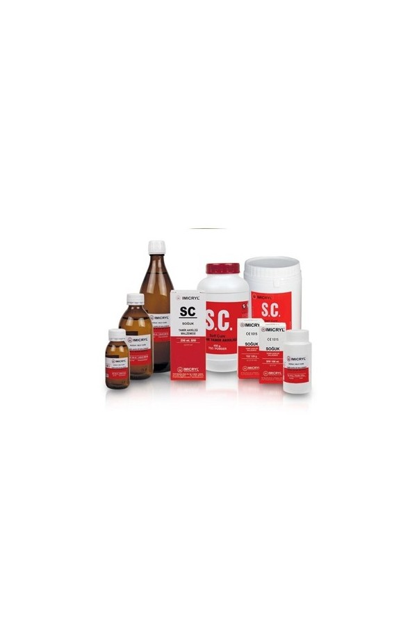 ACRILAT AUTO SELF CURE ACRYLIC - 120g+ 100ml